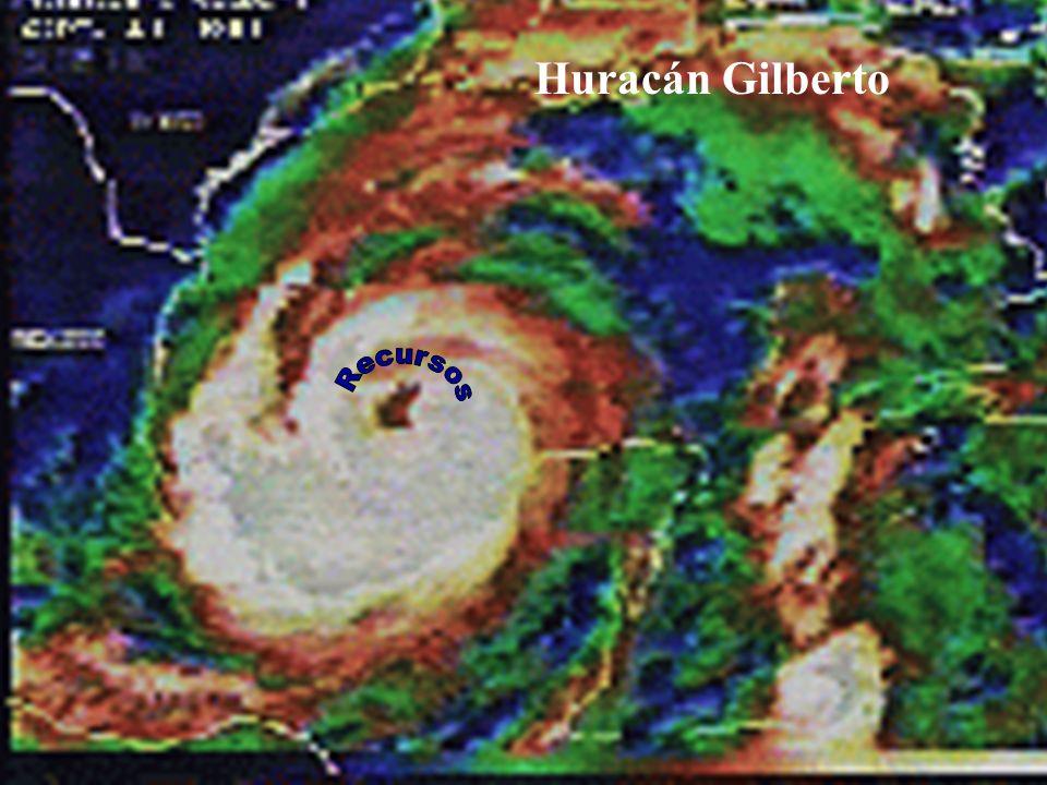 Huracán Gilberto Recursos