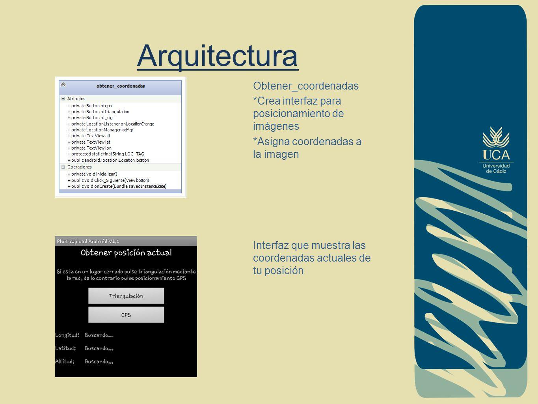 Arquitectura Obtener_coordenadas
