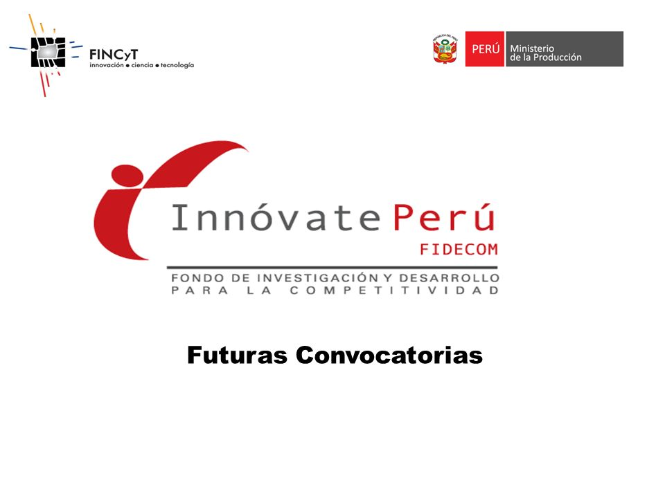 Futuras Convocatorias