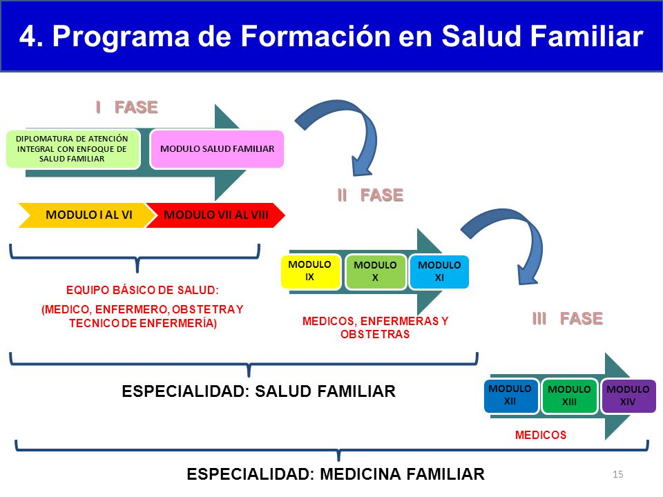 4. Programa de Formación en Salud Familiar