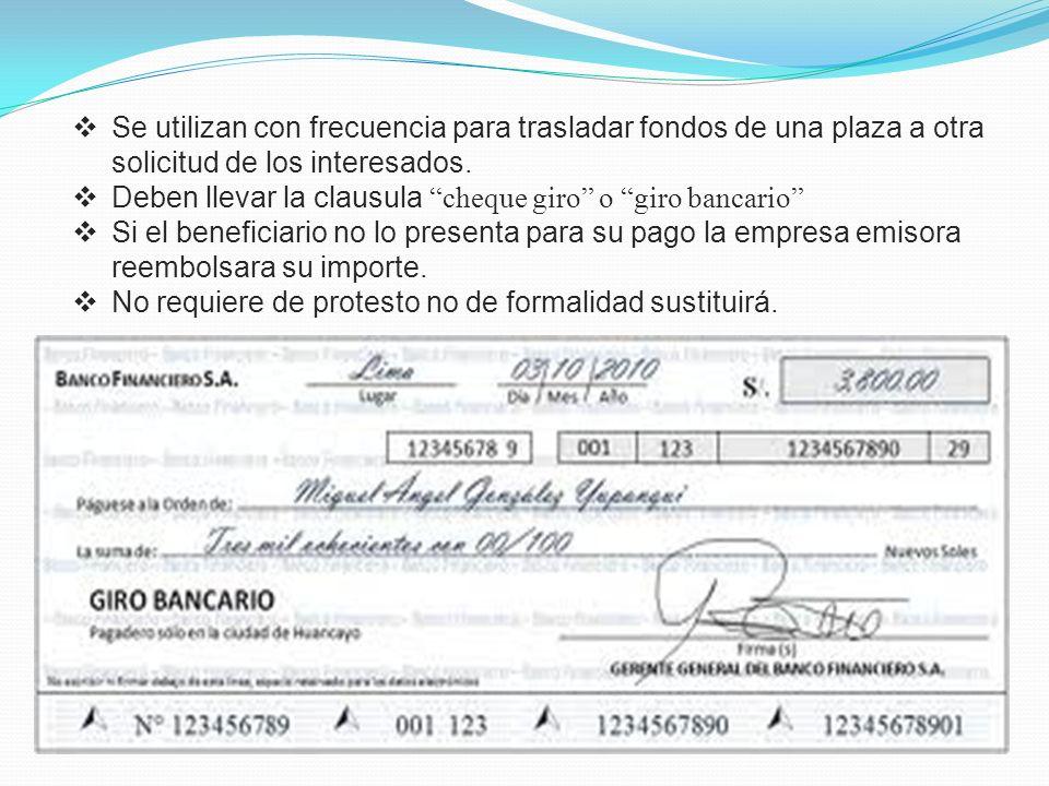 El cheque en la ley de titulos valores ppt descargar for Clausula suelo oficina directa