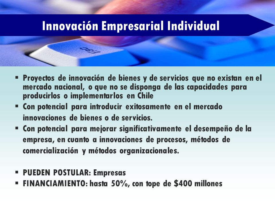 Innovación Empresarial Individual