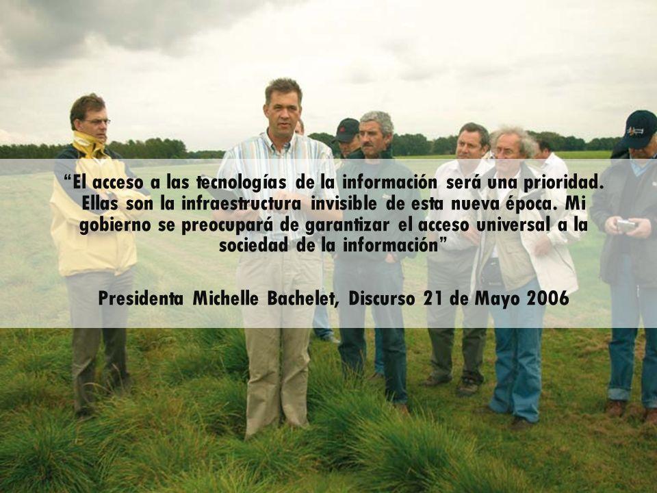 Presidenta Michelle Bachelet, Discurso 21 de Mayo 2006