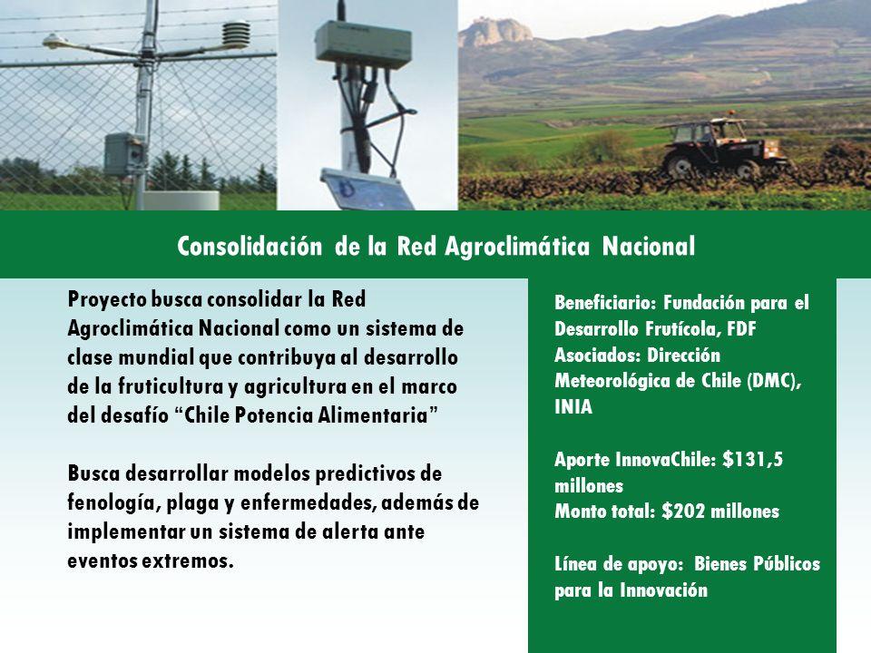 Consolidación de la Red Agroclimática Nacional