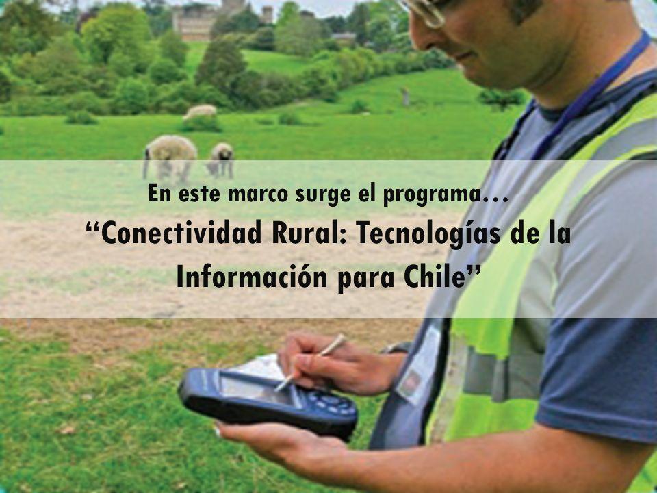 Conectividad Rural: Tecnologías de la Información para Chile