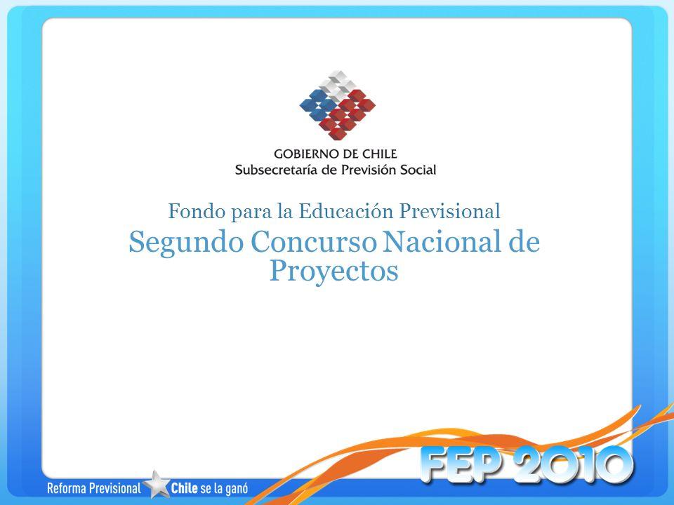 Segundo Concurso Nacional de Proyectos