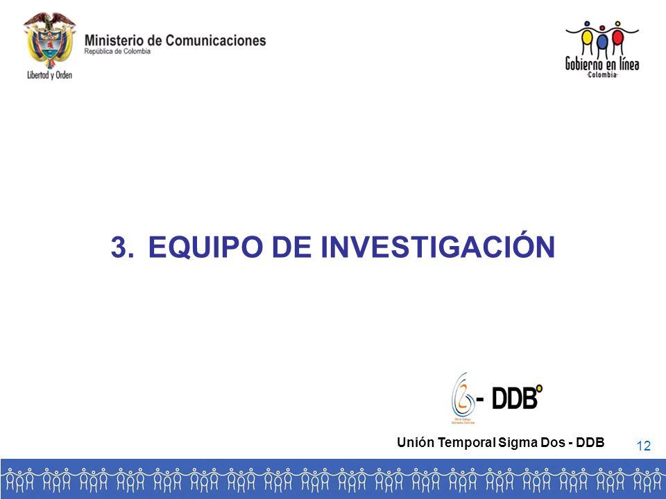 EQUIPO DE INVESTIGACIÓN