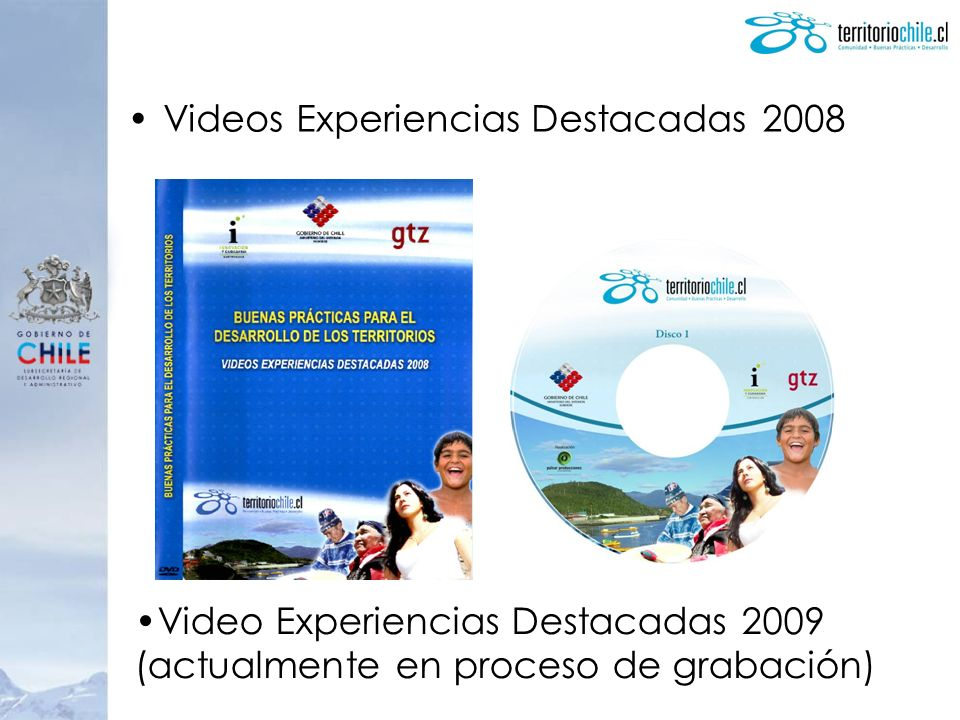 Videos Experiencias Destacadas 2008