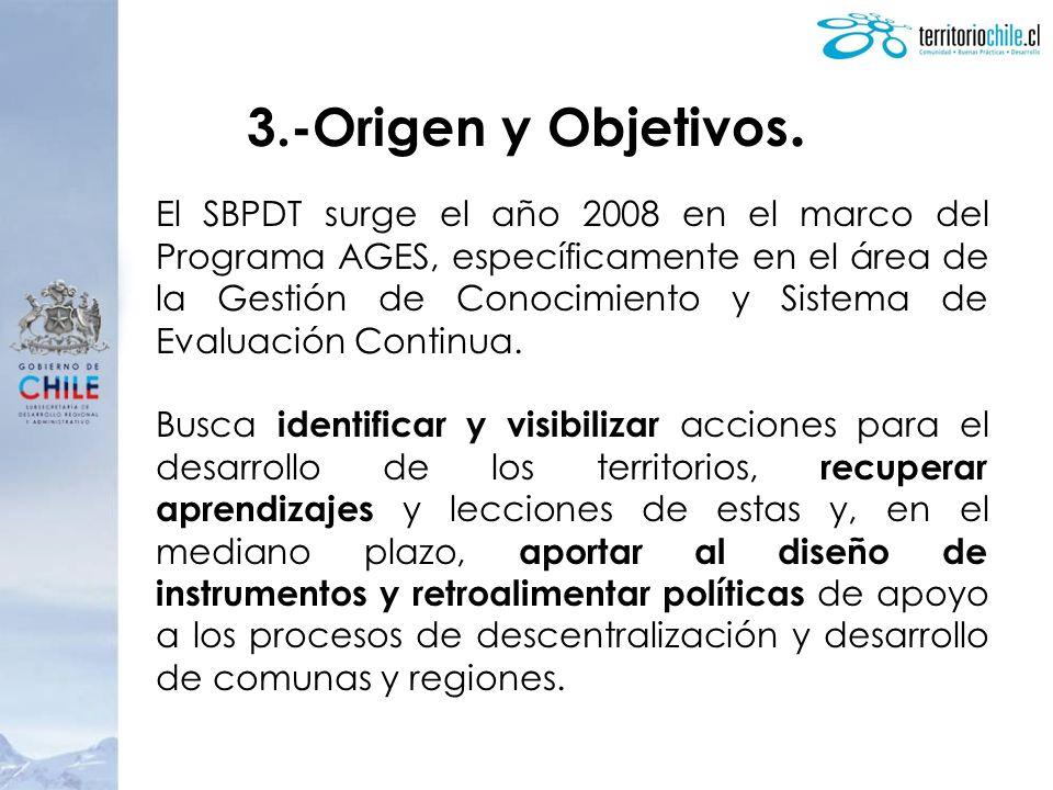 3.-Origen y Objetivos.