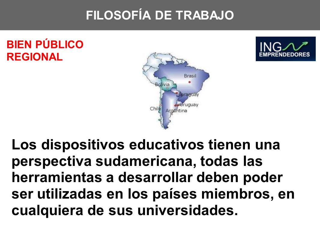 FILOSOFÍA DE TRABAJOBIEN PÚBLICO REGIONAL.