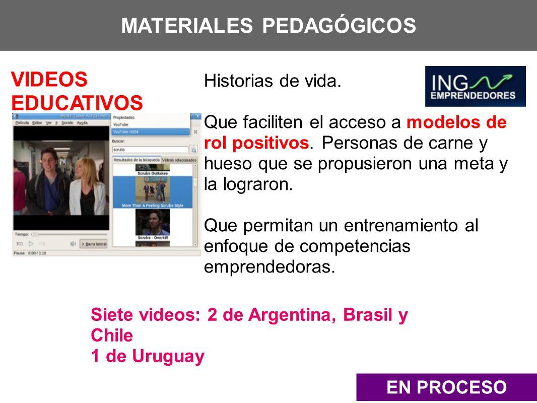 MATERIALES PEDAGÓGICOS
