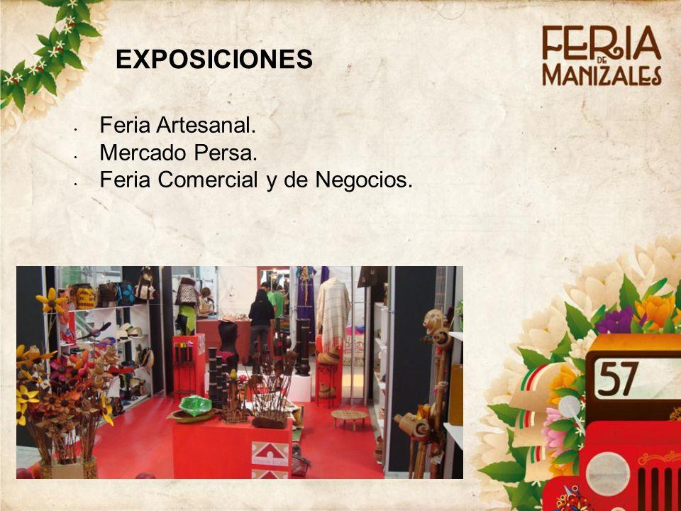 EXPOSICIONES Feria Artesanal. Mercado Persa.