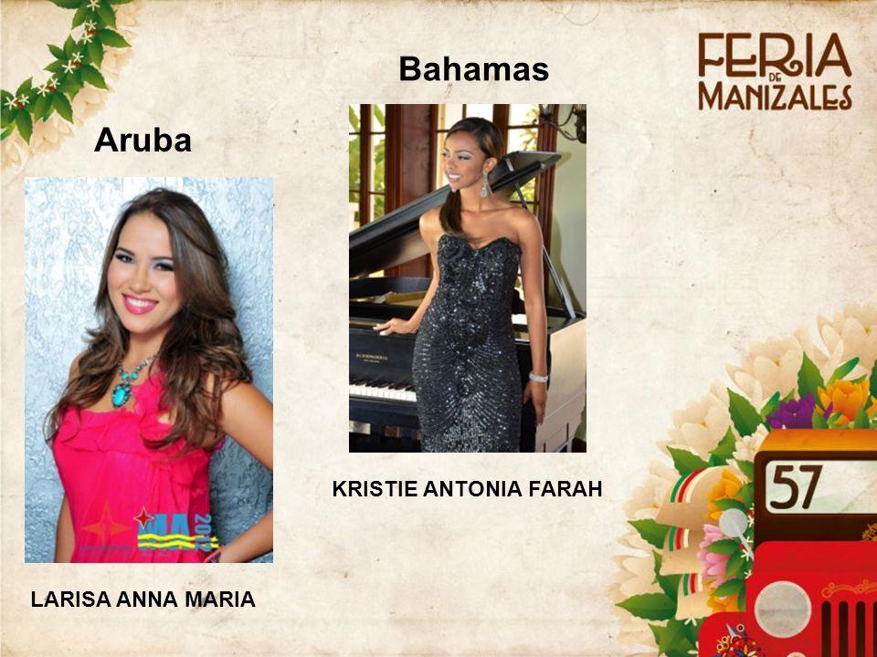 3434 Bahamas Aruba KRISTIE ANTONIA FARAH LARISA ANNA MARIA