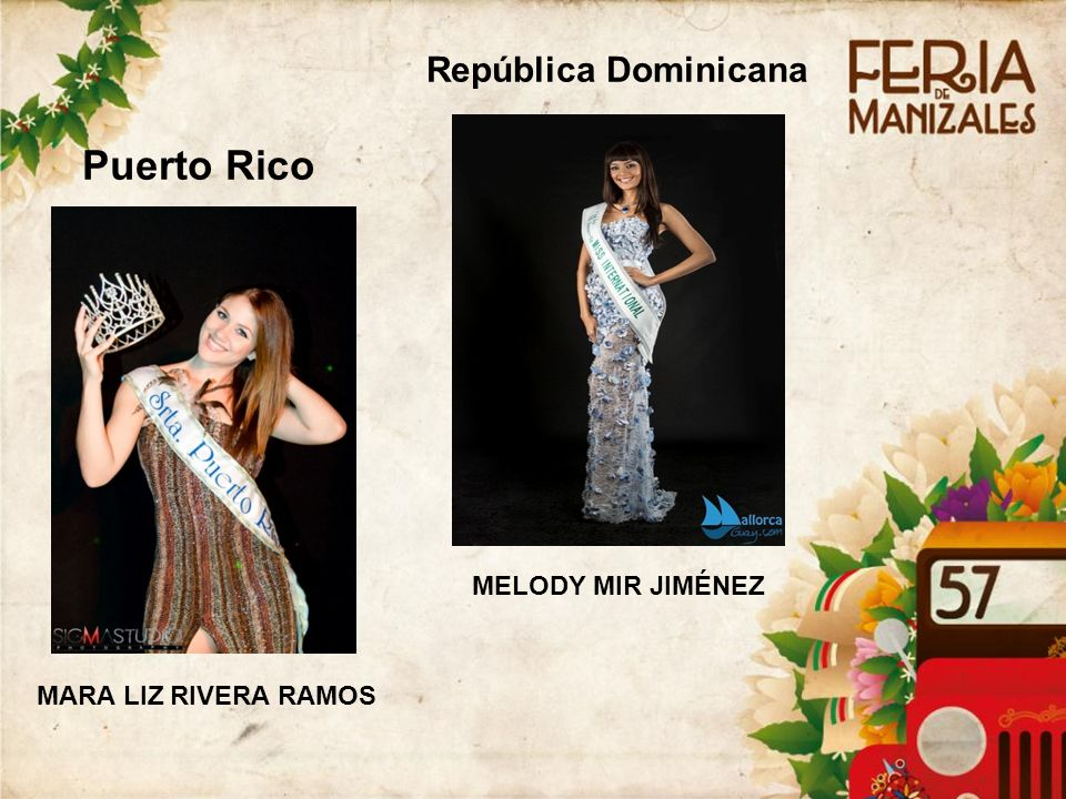 Puerto Rico República Dominicana 4141 MELODY MIR JIMÉNEZ