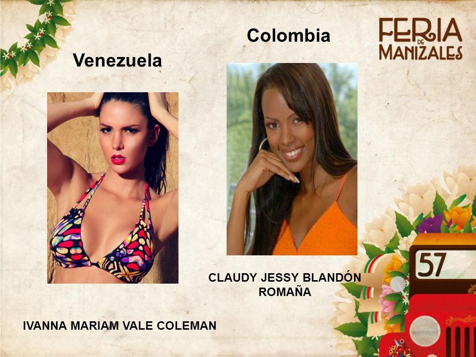 CLAUDY JESSY BLANDÓN ROMAÑA IVANNA MARIAM VALE COLEMAN