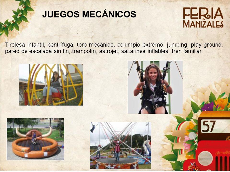 5 JUEGOS MECÁNICOS.