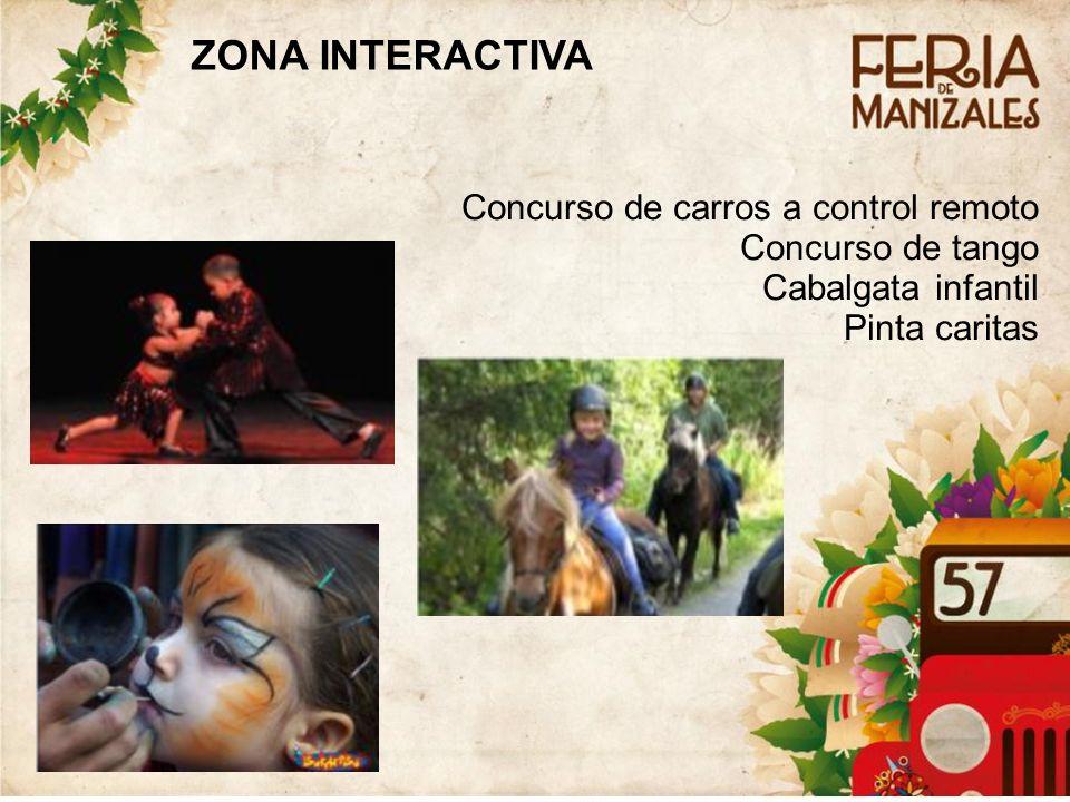 ZONA INTERACTIVA Concurso de carros a control remoto Concurso de tango