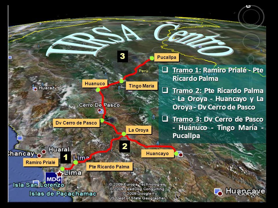 IIRSA Centro 3 Tramo 1: Ramiro Prialé - Pte Ricardo Palma