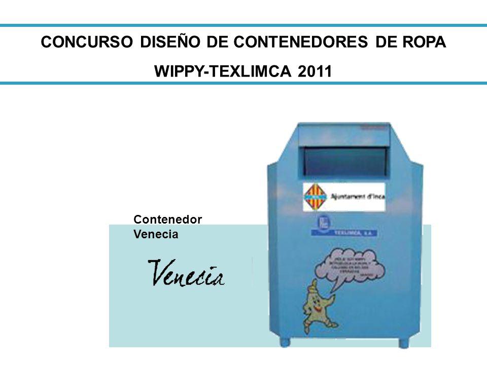 CONCURSO DISEÑO DE CONTENEDORES DE ROPA