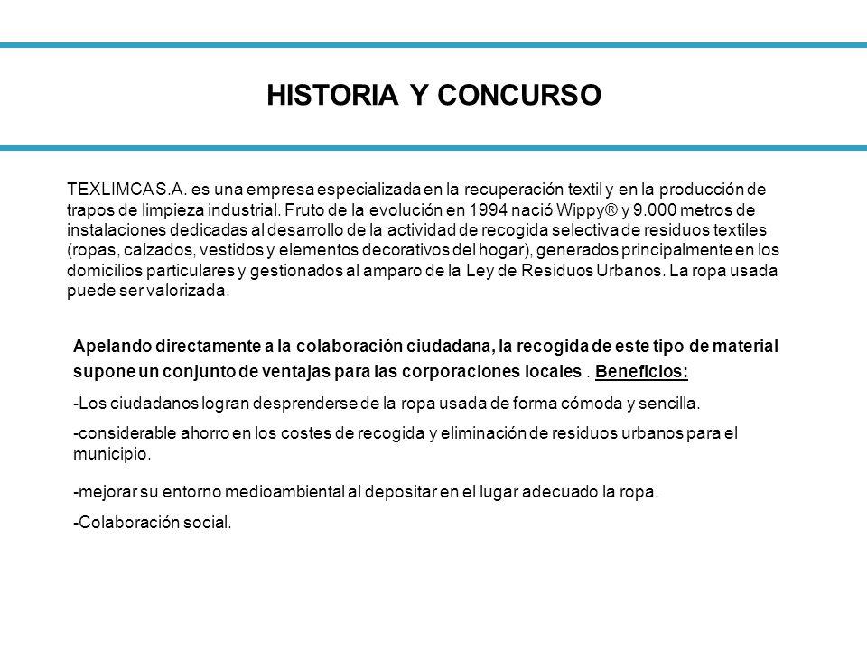 HISTORIA Y CONCURSO