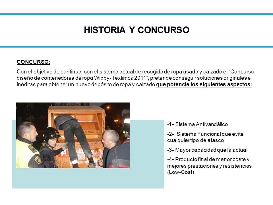 HISTORIA Y CONCURSO CONCURSO: