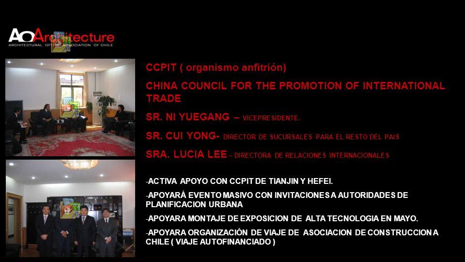 CCPIT ( organismo anfitrión)