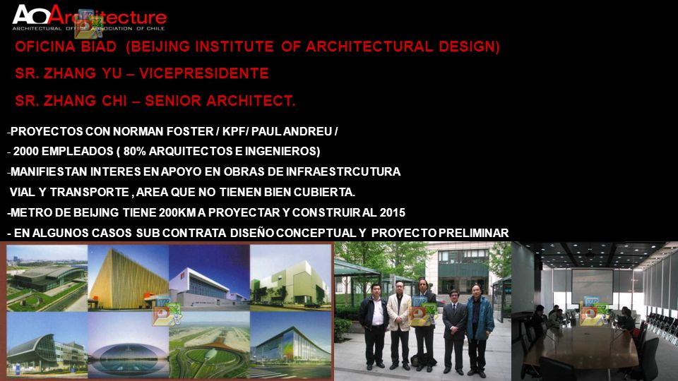 OFICINA BIAD (BEIJING INSTITUTE OF ARCHITECTURAL DESIGN)