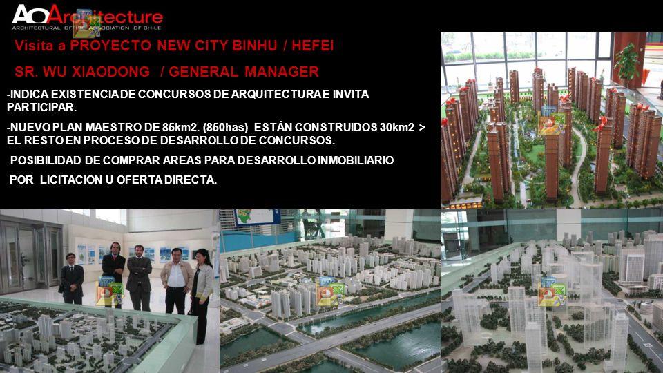 Visita a PROYECTO NEW CITY BINHU / HEFEI