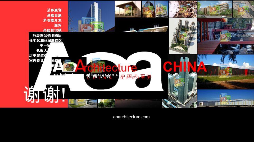 谢谢! CHINA rchitecture 智利建筑事务所协会 中国办事处