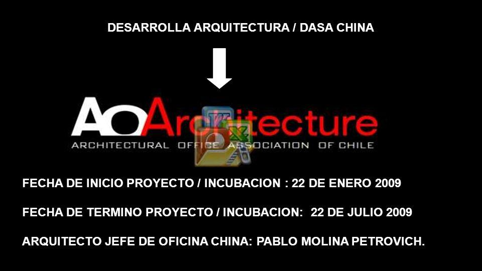 DESARROLLA ARQUITECTURA / DASA CHINA