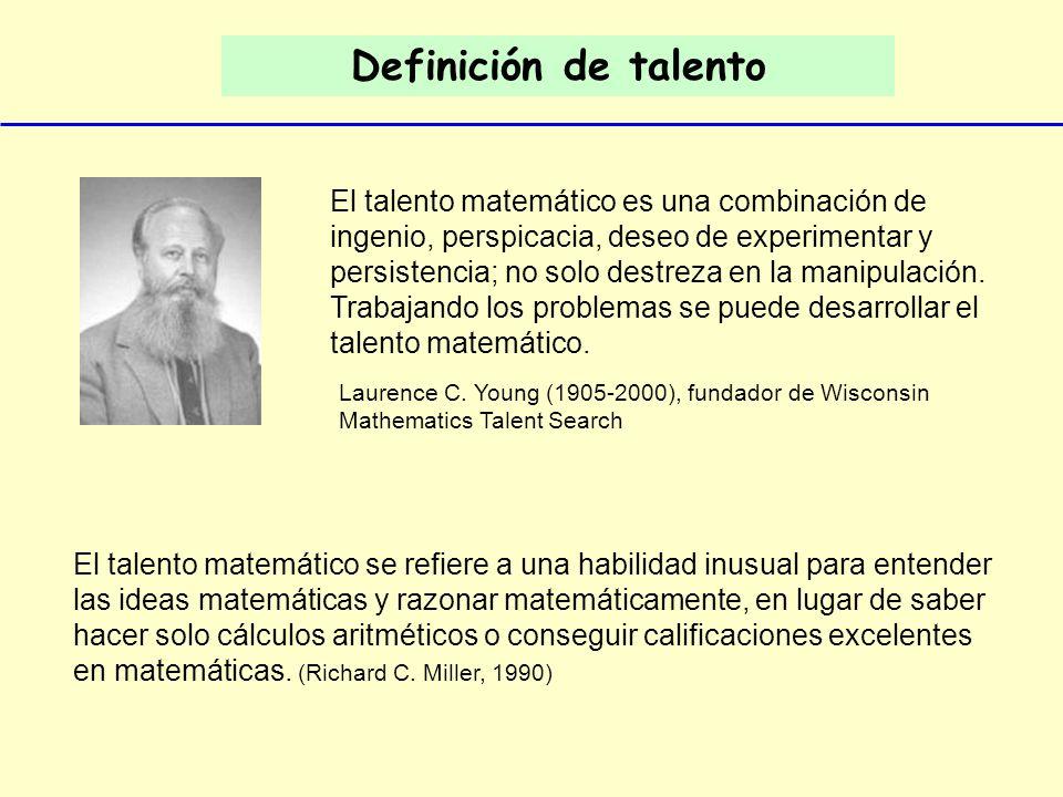 Definición de talento