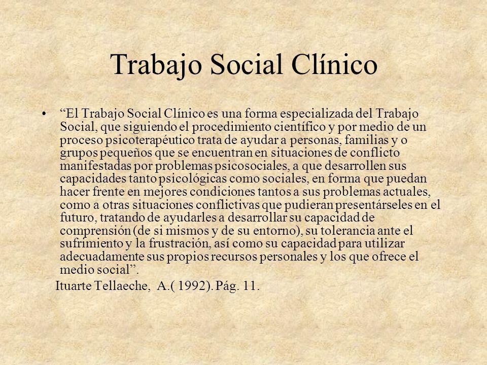 Trabajo Social Clínico