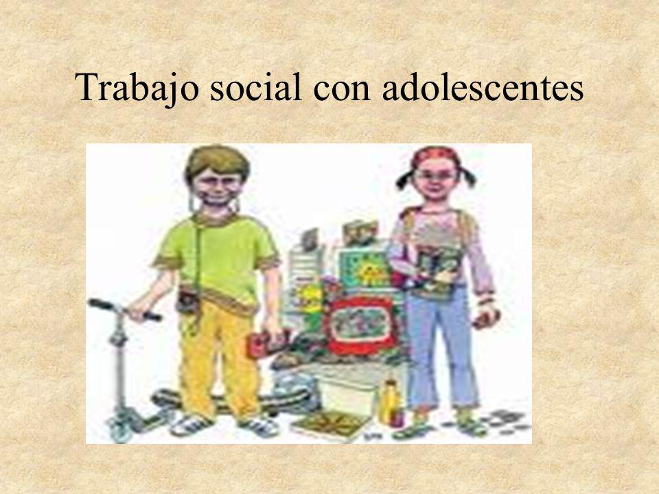 Trabajo social con adolescentes