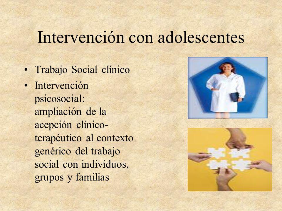 Intervención con adolescentes