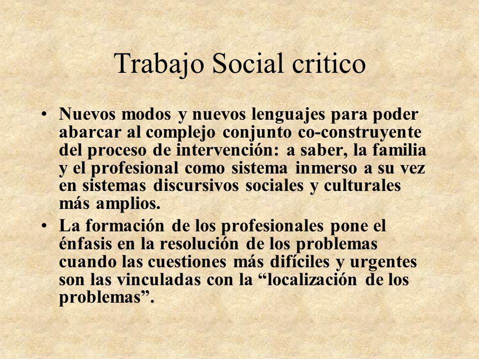 Trabajo Social critico