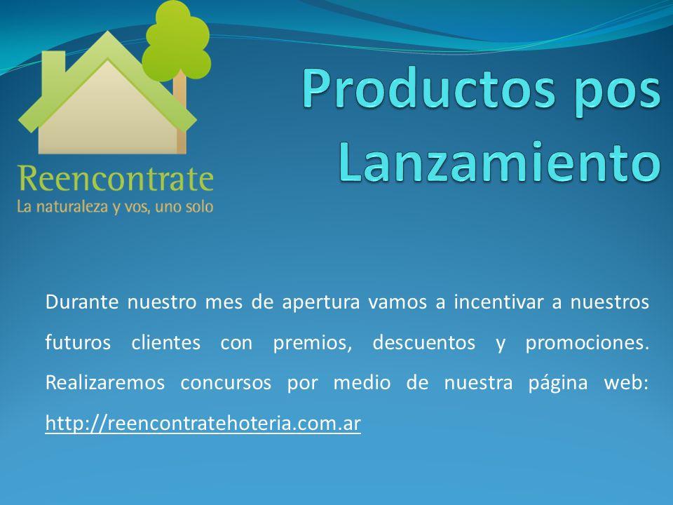 Productos pos Lanzamiento