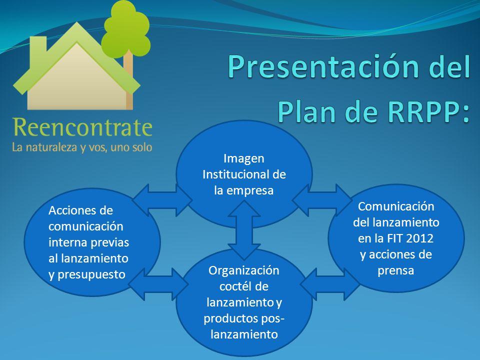 Presentación del Plan de RRPP: