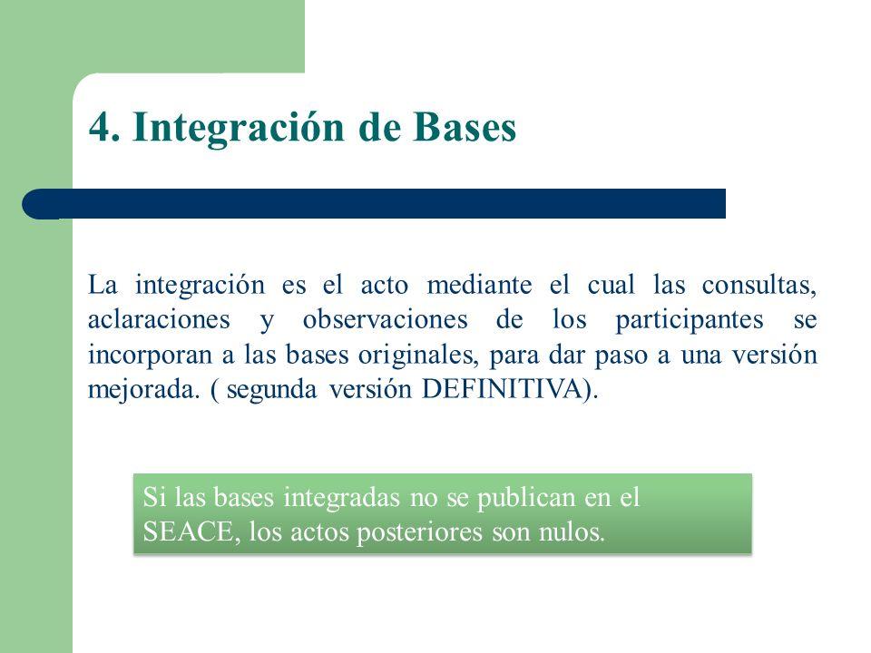 4. Integración de Bases