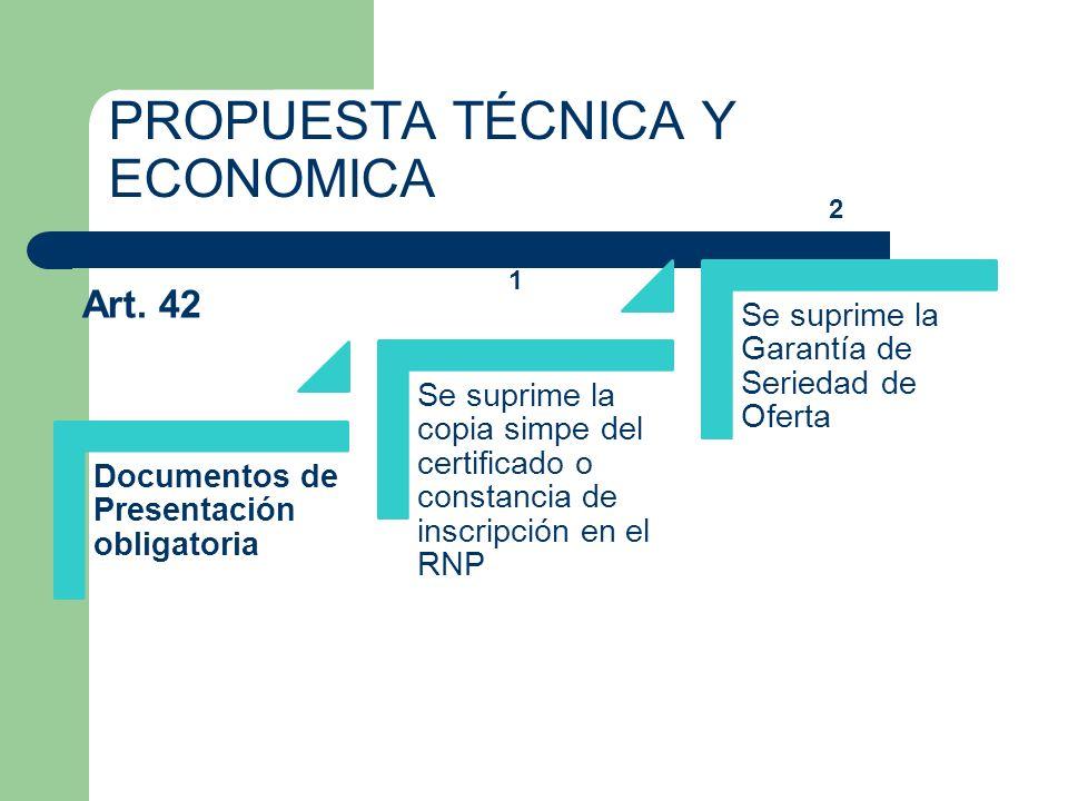 PROPUESTA TÉCNICA Y ECONOMICA