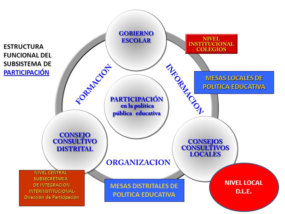 Dirección de Participación