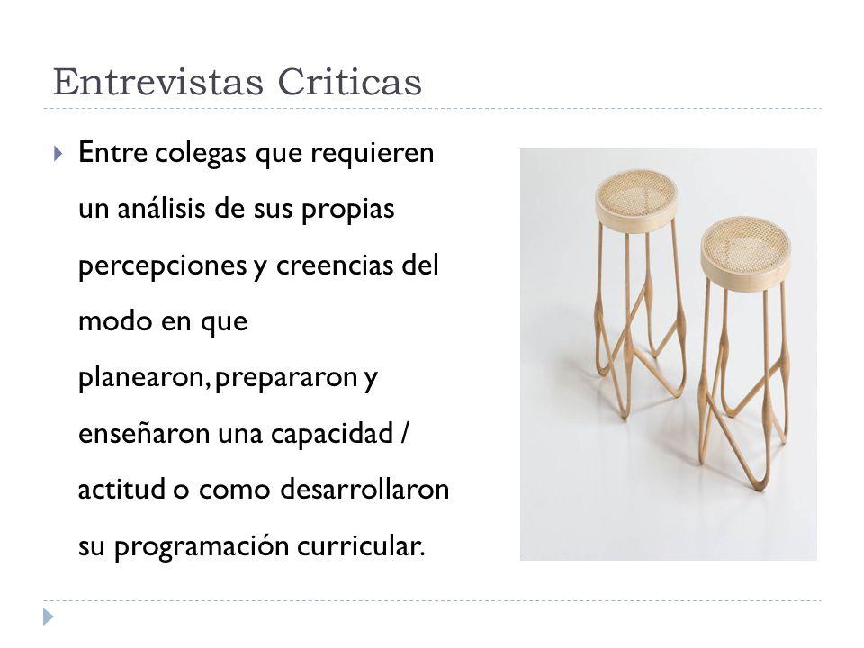 Entrevistas Criticas
