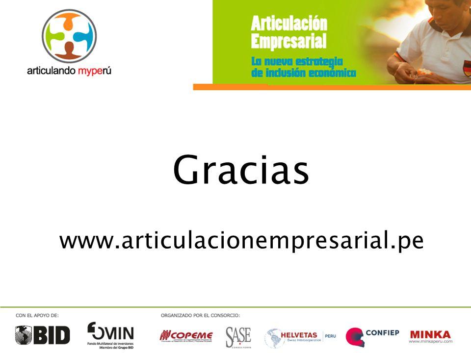 Gracias www.articulacionempresarial.pe