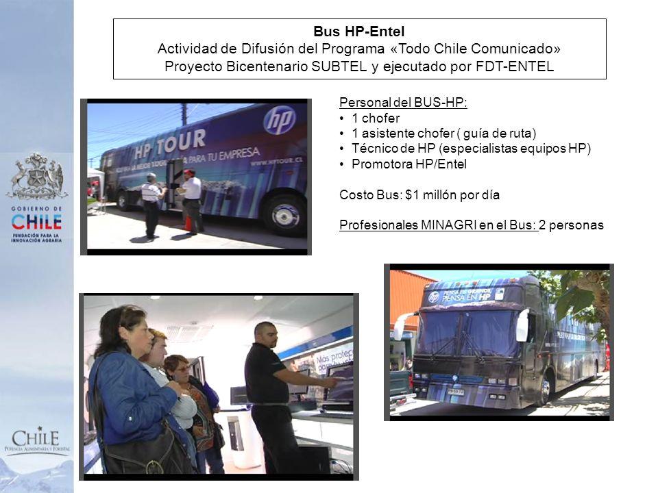 Actividad de Difusión del Programa «Todo Chile Comunicado»