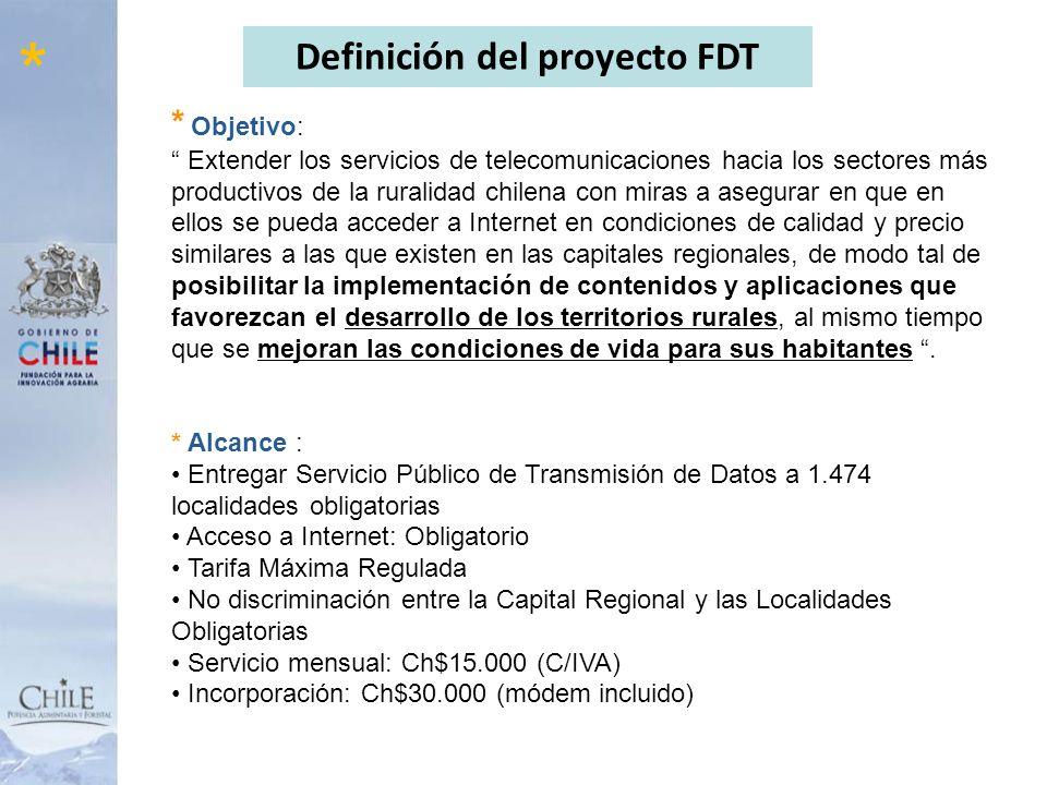Definición del proyecto FDT