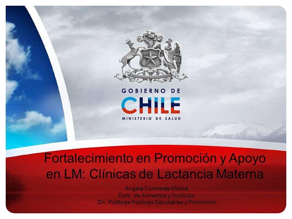 Fortalecimiento en Promoción y Apoyo en LM: Clínicas de Lactancia Materna