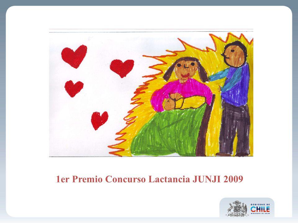 1er Premio Concurso Lactancia JUNJI 2009