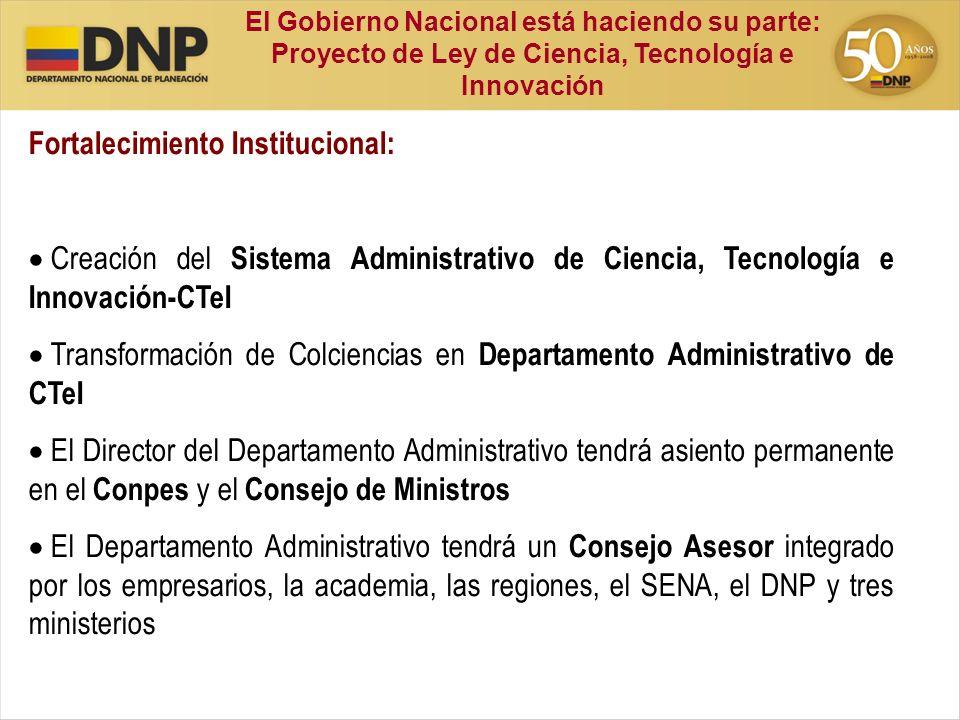 Fortalecimiento Institucional: