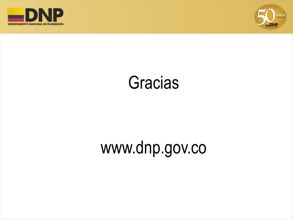 Gracias www.dnp.gov.co 38