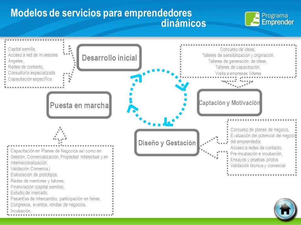 Modelos de servicios para emprendedores dinámicos