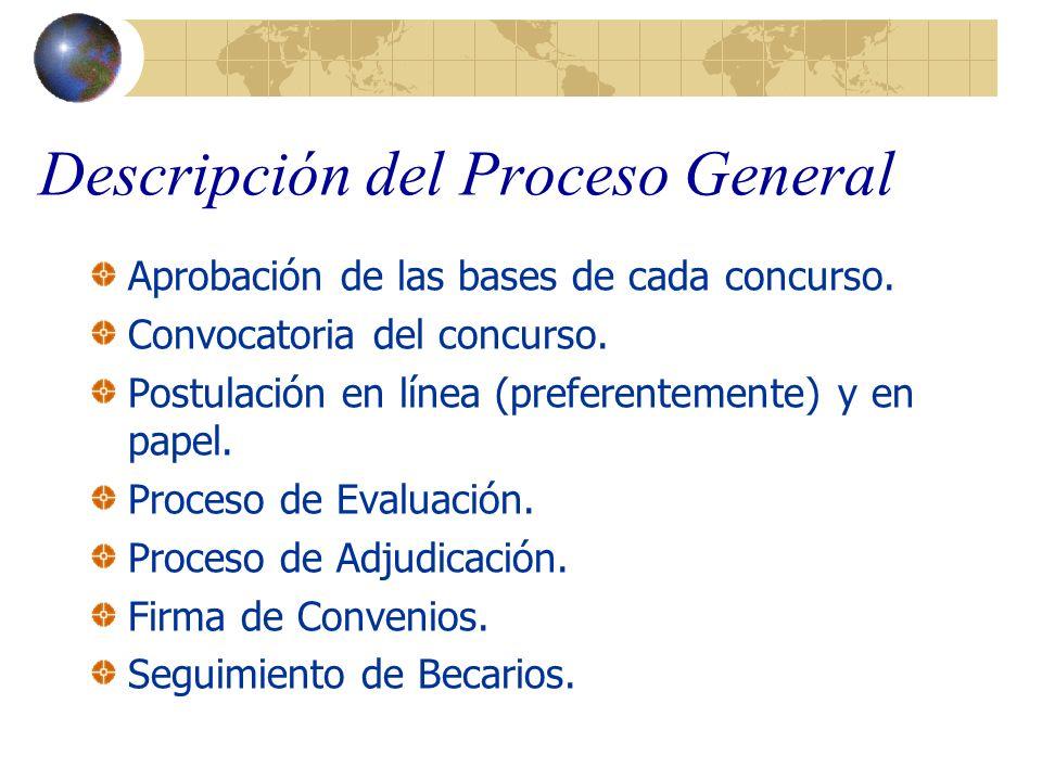 Descripción del Proceso General